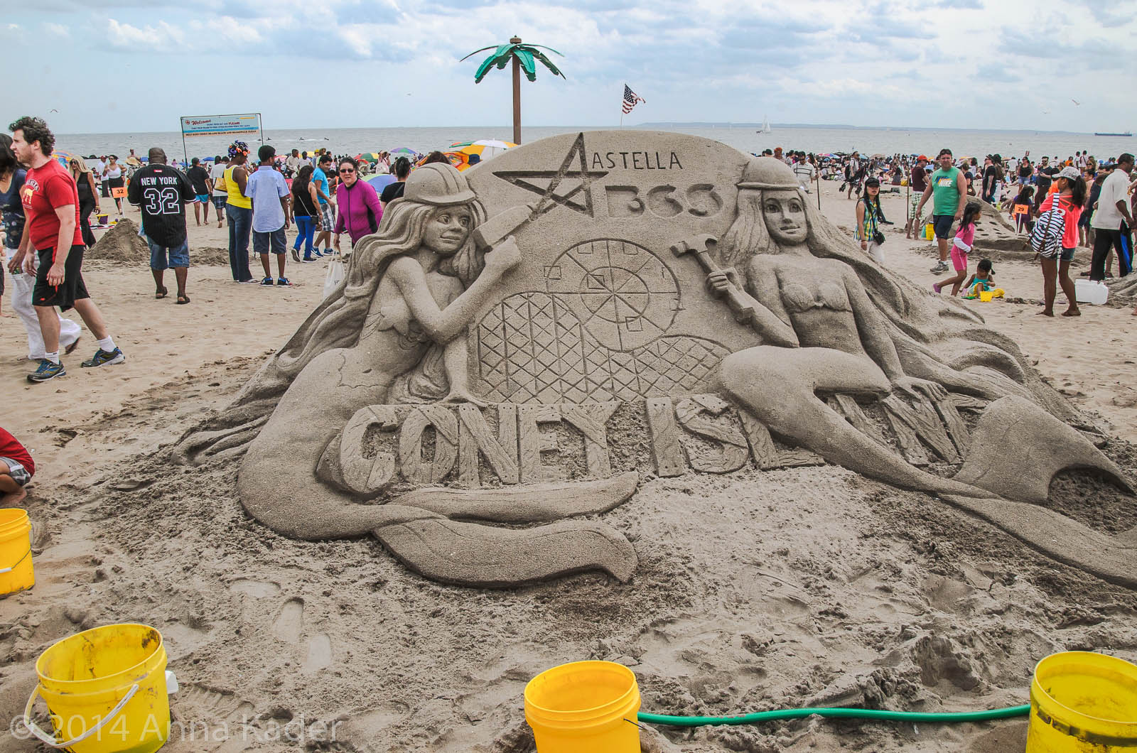 Coney Island Annual Sand Sculpting Competition