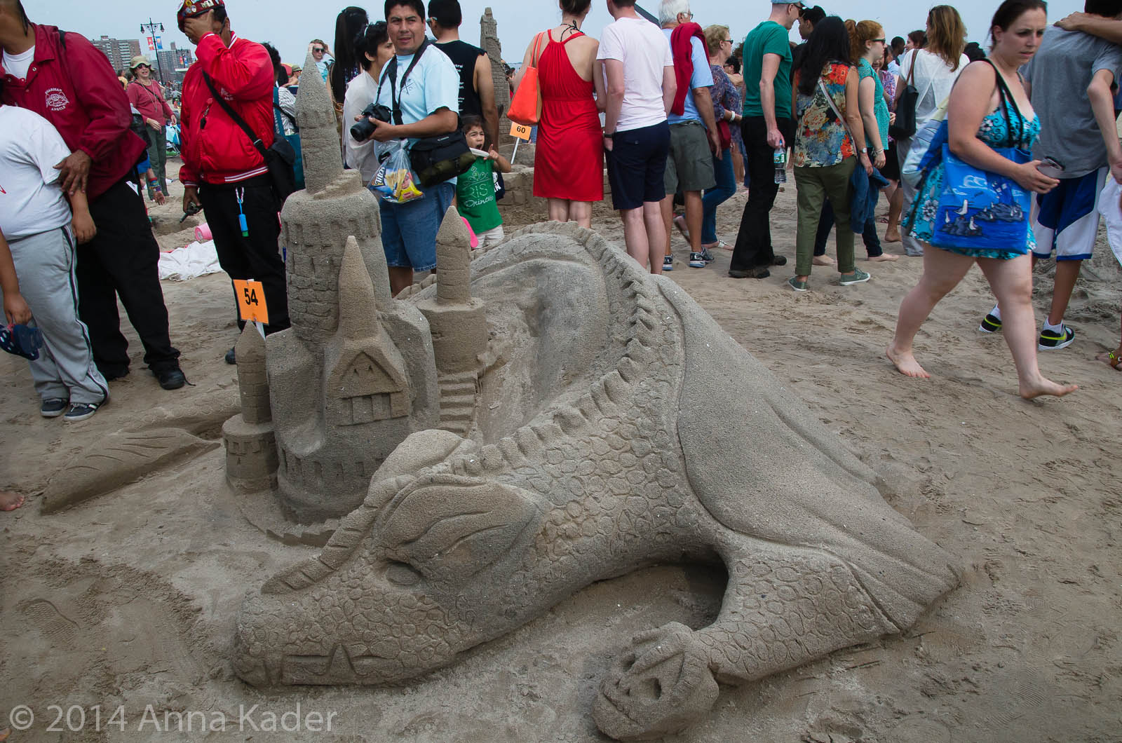 Coney Island Annual Sand Sculpting Competition-3
