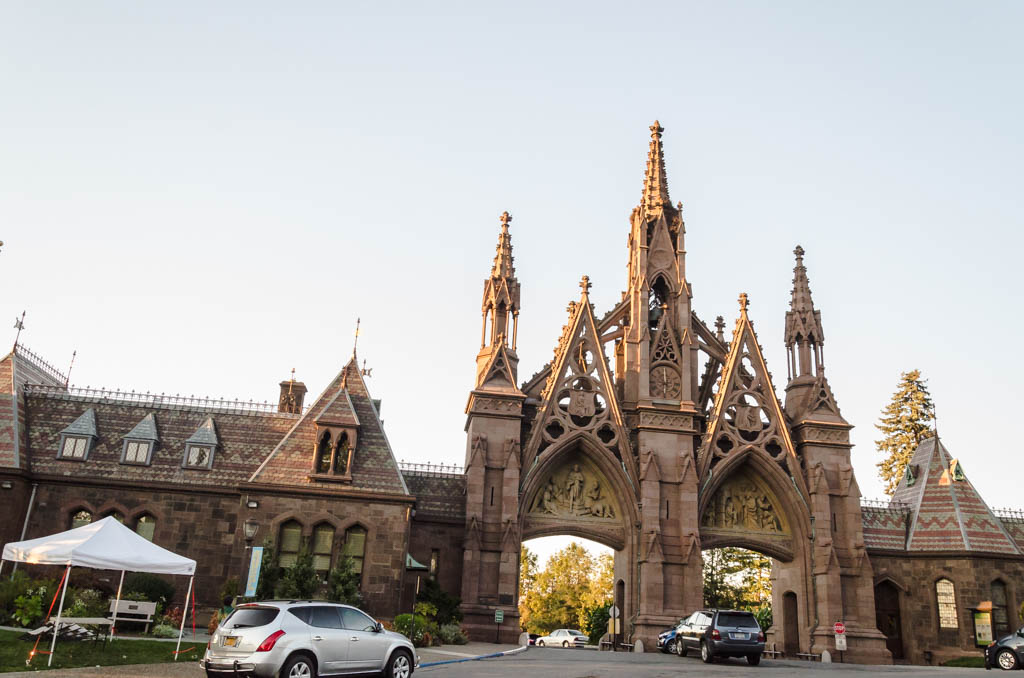 Greenwood Cemetery -Main Entrance